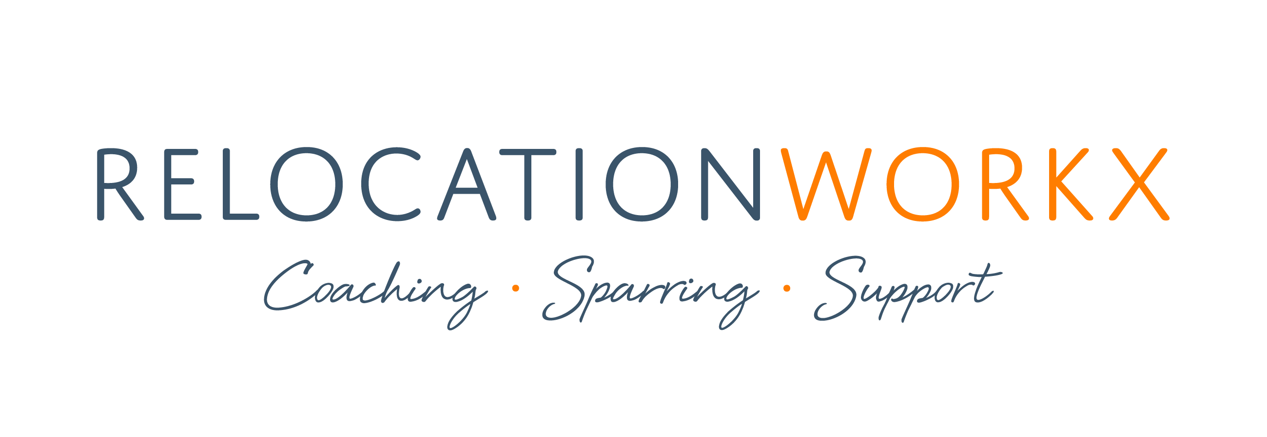 Logo Relocationworkx - Coaching, Sparring, Support.